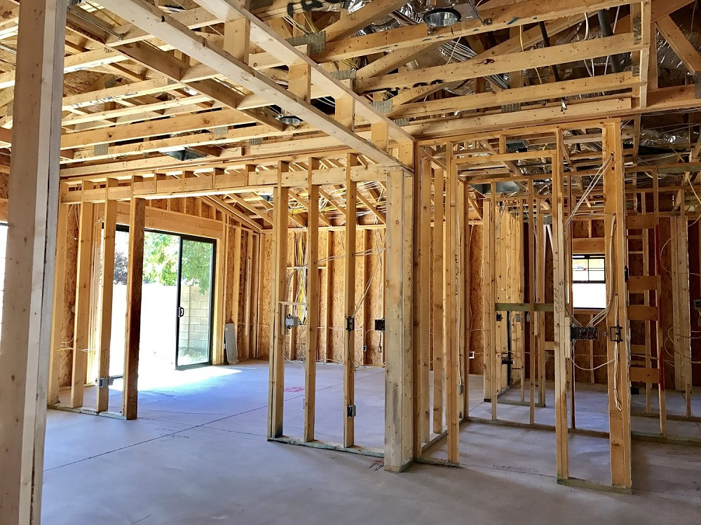 Home+renovation+open+walls+pre+first+fix+structured+cabling